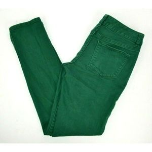 Limited 678 Skinny Green Jeans